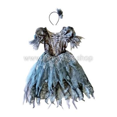 Скелет платье серое. Монстр Хай