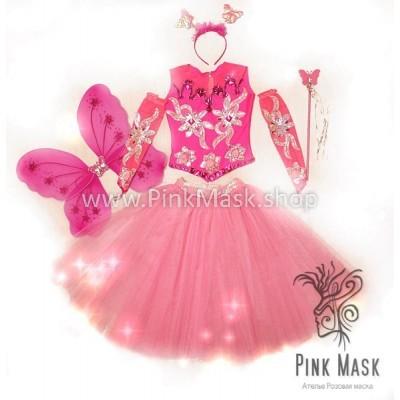 Бабочка розовая. Фея