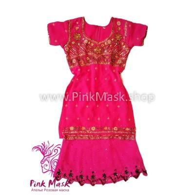 Индийский розовый