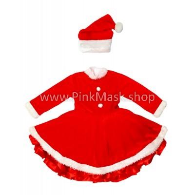 Санта Клаус девочка. Новый год