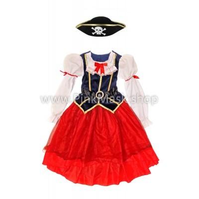 Пиратка в длинном платье