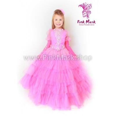 Аврора. Барби. Платье розовое Элит