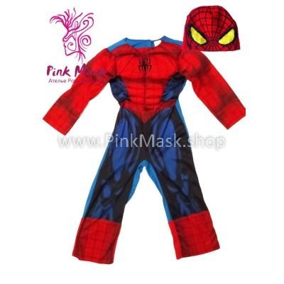 Человек паук с мышцами