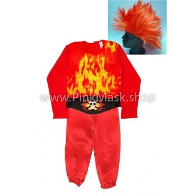 Огонь. Огненный человек.