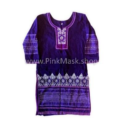 Рубаха Сиреневая
