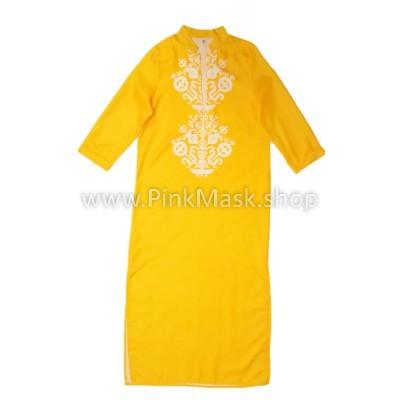 Кафтан жёлтый
