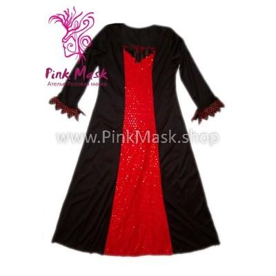 Ведьмочка в Красно-чёрном. Вампирша