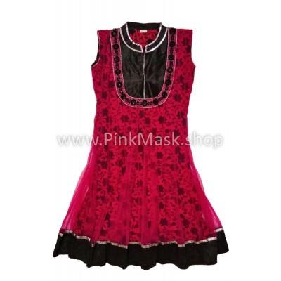 Платье бордо 2