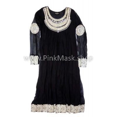 Платье Чёрное серебро