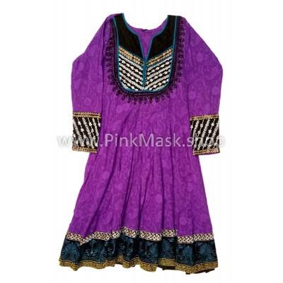 Платье Этнос фиолетовое