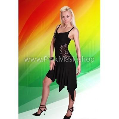 Латина. Платье чёрное
