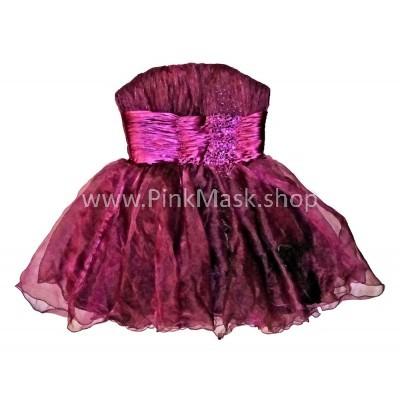 Платье фиолетовое без бретель